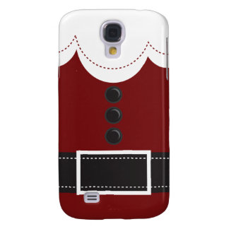 Santa Claus Suit Christmas Holiday Design Samsung Galaxy S4 Case