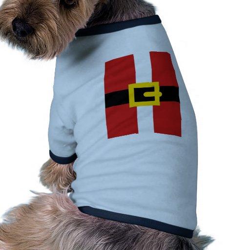 Santa Claus suit Doggie Tee