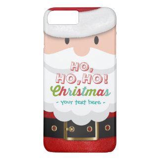 Santa Claus Suit Ho Ho Ho Christmas Happy New Year iPhone 7 Plus Case