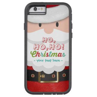 Santa Claus Suit Ho Ho Ho Christmas Happy New Year Tough Xtreme iPhone 6 Case