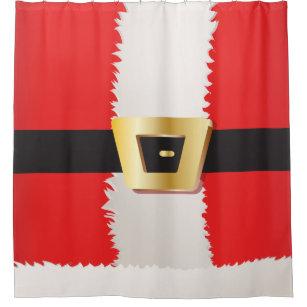Santa Claus Suit Shower Curtain