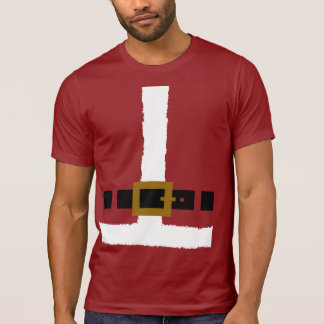 Santa Claus Suit Tee Shirt