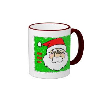 Santa Claus T-Shirts & GIfts Ringer Coffee Mug