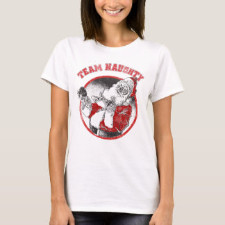 Santa Claus - Team Naughty T-Shirt