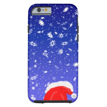 Christmas Themed Santa Claus Tough iPhone 6 Case