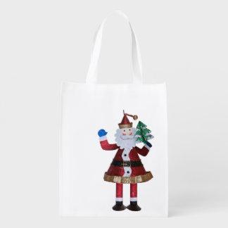 Santa claus Toy Reusable Grocery Bag