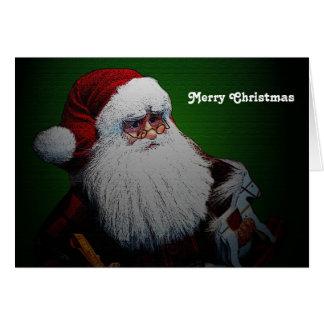 Santa Claus Traditional Christmas Card