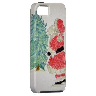 Santa Claus & Tree iPhone SE/5/5s Case