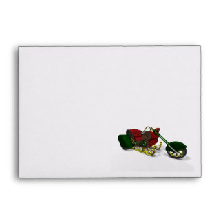 Santa Claus' Trike Envelope