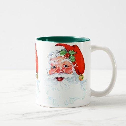 Santa Claus Two-Tone Coffee Mug