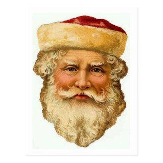 Santa Claus Vintage Card Postcard