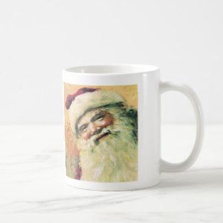 Santa Claus Vintage Christmas Coffee Mug