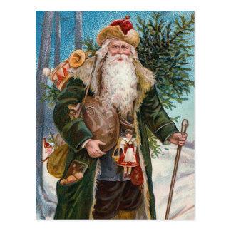 """Santa Claus"" Vintage Postcard"