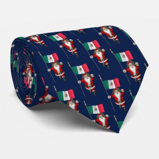 Santa Claus Visiting Of Mexico Tie