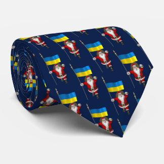Santa Claus Visiting Of Ukraine Tie