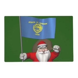 Santa Claus Visits TheUS  Beaver State Placemat