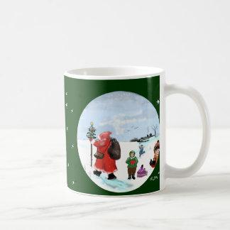 Santa Claus was here… Cup Classic White Coffee Mug