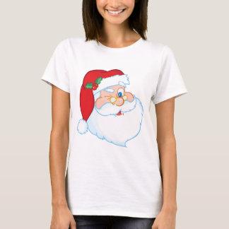 Santa Claus Winking T-Shirt
