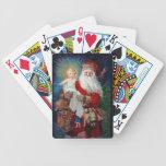 Santa Claus with Christ Child Card Decks