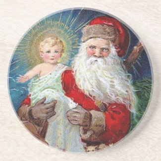 Santa Claus with Christ Child