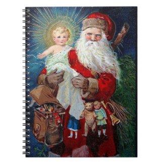 Santa Claus with Christ Child