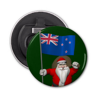 santa claus with ensign of new zealand gifts on zazzle. Black Bedroom Furniture Sets. Home Design Ideas