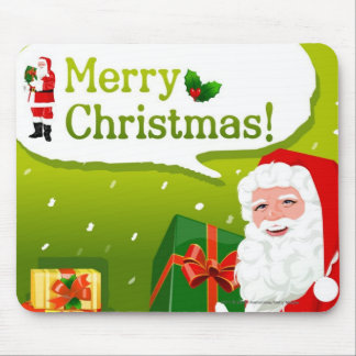 Santa Claus with gifts Mouse Pad