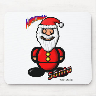 Santa Claus (with logos) Mouse Pad