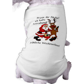Santa Claus with moose Shirt