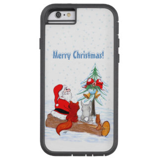 Santa Claus with Rabbit Fox and Squirrel Tough Xtreme iPhone 6 Case