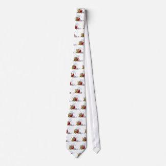 Santa Claus With Sack Of Toys Neck Tie