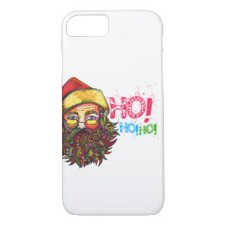 Santa Claus with Text iPhone 7 Case