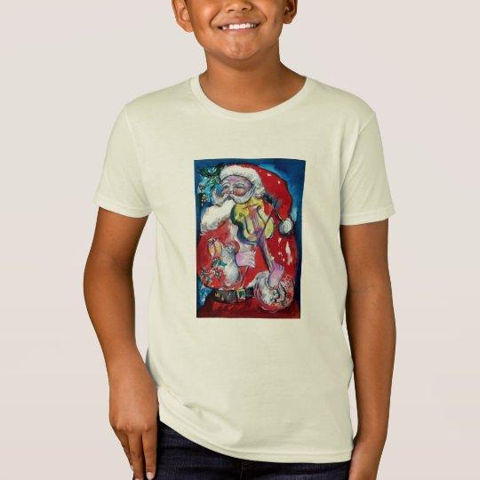 SANTA CLAUS WITH VIOLIN T-Shirt