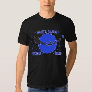 Santa Claus World Tour Dark Design Shirt