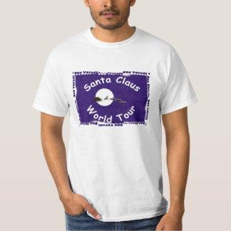 Santa Claus World Tour Tee Shirt