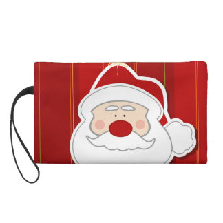 Santa Claus Wristlet Purse