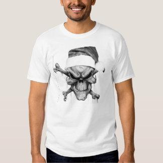 Santa Claus Xmas Death Skull T-Shirt