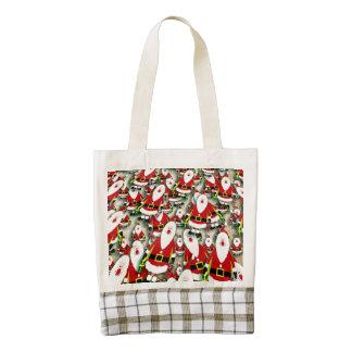 santa-claus zazzle HEART tote bag