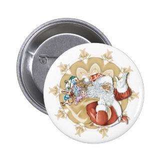 Santa Clause - Button