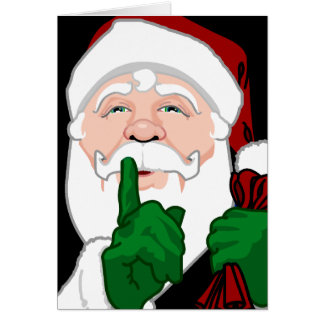 Santa Clause Card Christmas Greeting Card