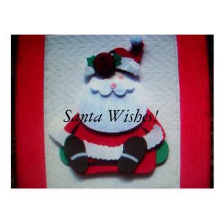 santa clause Card Postcard