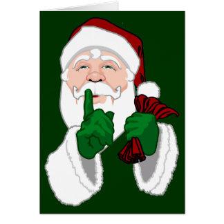 Santa Clause Cards Christmas Greetings Card