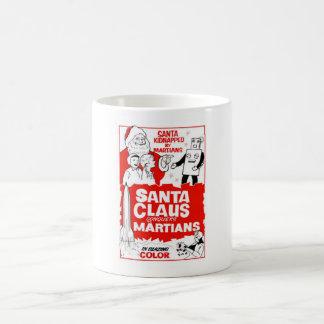 Santa Clause Christmas Joy Coffee Mugs