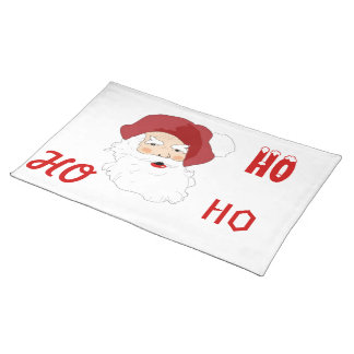 Santa Clause Cloth Placemat