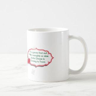 Santa Clause Coffee Mug