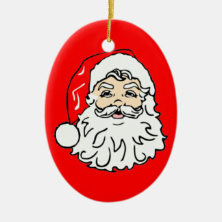 Santa Clause Dont Stop Believing Xmas Ornament