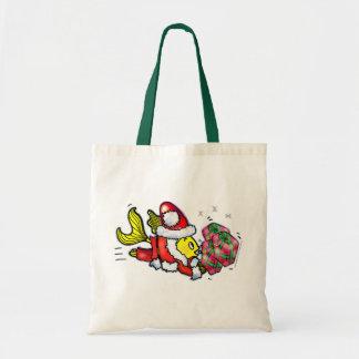Santa Clause Fish - funny cute Christmas Bag