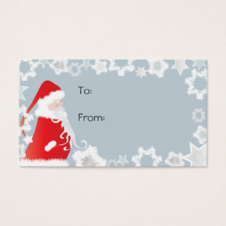 Santa Clause Gift Tags