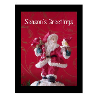 Santa Clause Holiday Postcard