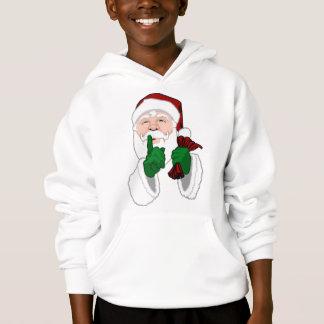 Santa Clause Hoodie Shirt Kids Santa Sweashirts